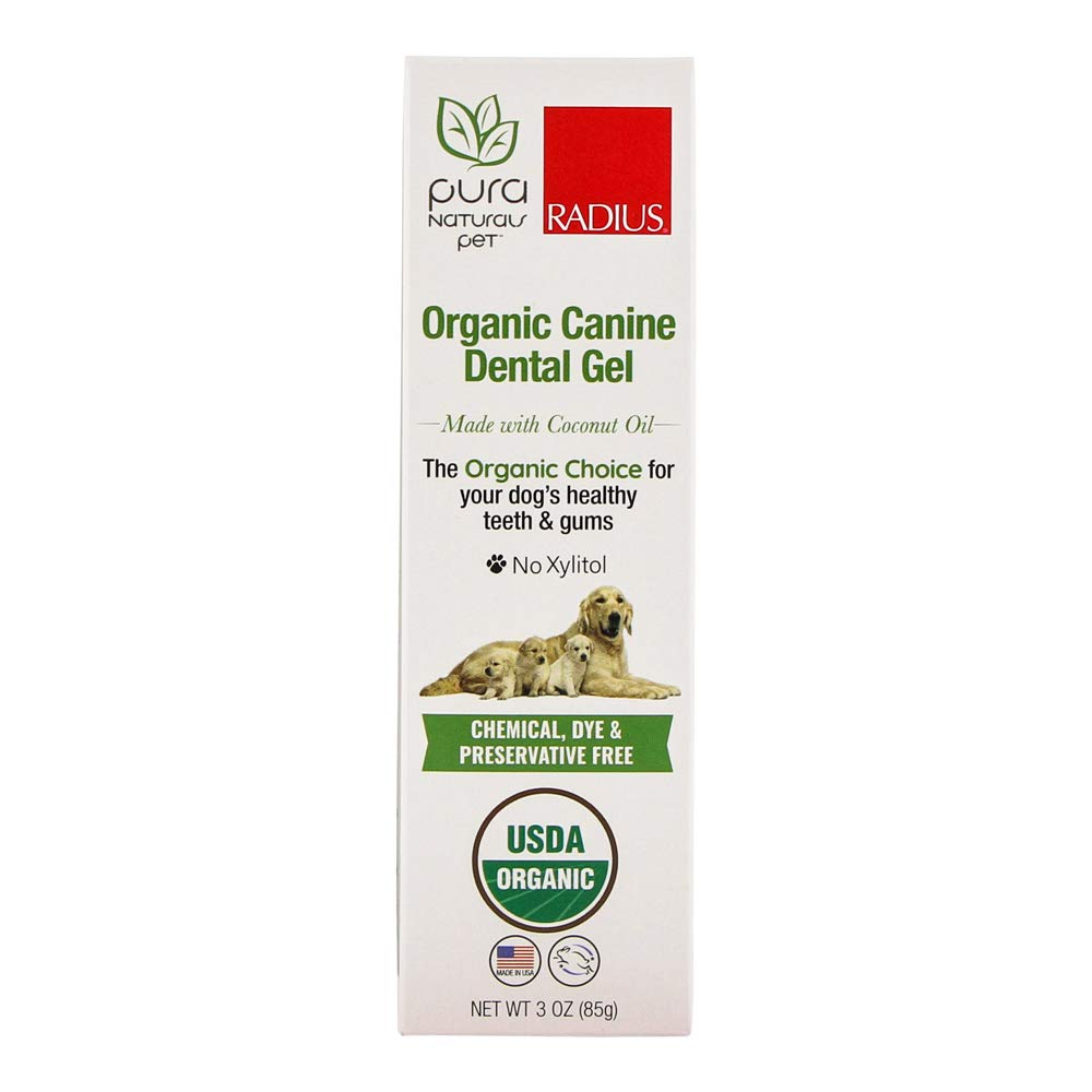 Radius Pura Naturals Pet - Organic Canine Dental Gel