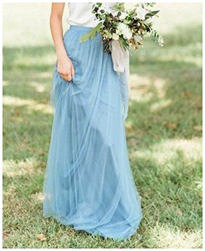 Sarahbridal Women's Long Tulle A line Skirts Bridesmaid for sale  Delivered anywhere in USA