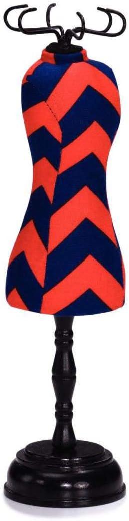 Bleu Marine//Rouge Polyester Prym Chevron G/éom/étrie et Dress-Form Broches en Forme de Coussin