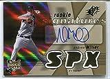 Andrew Miller 2007 RC Upper Deck SPX Rookie Signatures Auto #102 Detroit Tigers Cleveland Indians Pitcher