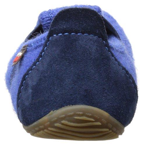 Living Kitzbühel T-Modell uni 1446 - Zapatillas de casa para niños azul - Blau (vicotria blue 558)