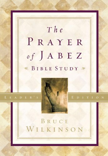 Prayer Of Jabez Book