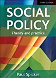 img - for Social Policy: Theory and Practice by Paul Spicker (2014-03-01) book / textbook / text book