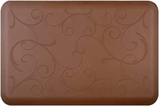 product image for WellnessMats Bella Motif Anti-Fatigue Mat, Brown, 36 Inch by 24 Inch