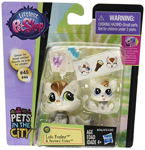 Littlest Pet Shop Pet Pawsabilities Lulu Foxley & Reynard - Littlest Mommy Baby Shop And