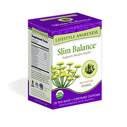 Lifestyle Awareness Teas, Slim Balance Tea, 20 Count (Pack of 6)