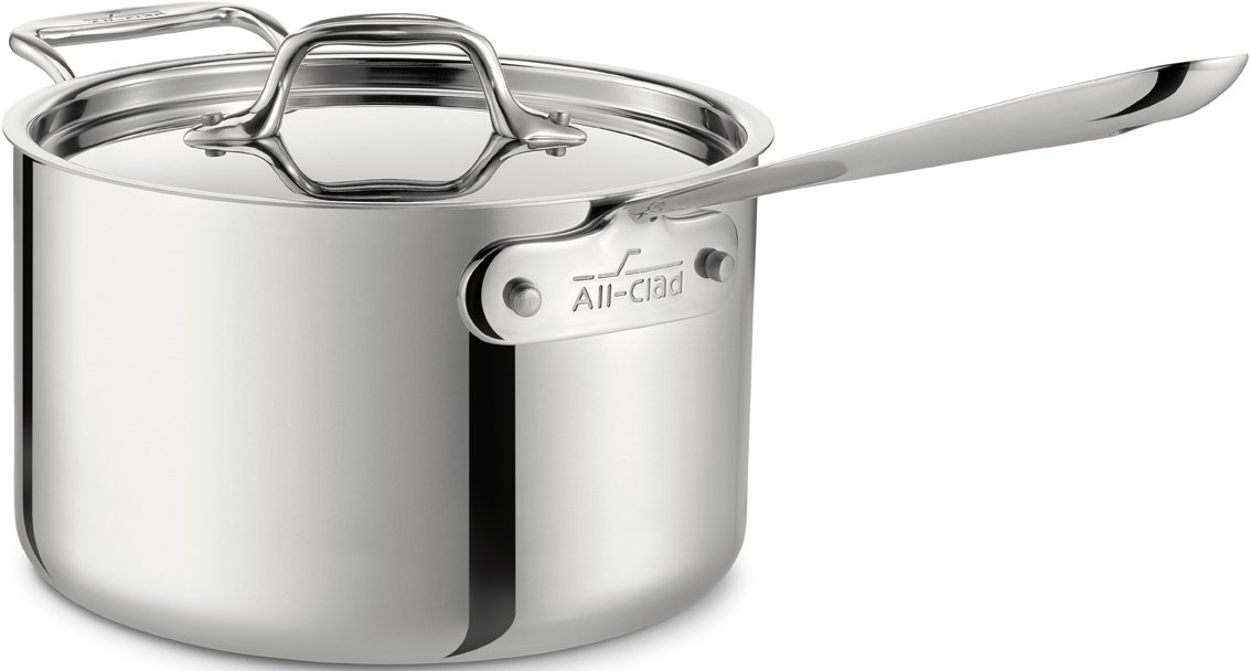 Sauce Pan with Loop Helper Handle and Lid Cookware