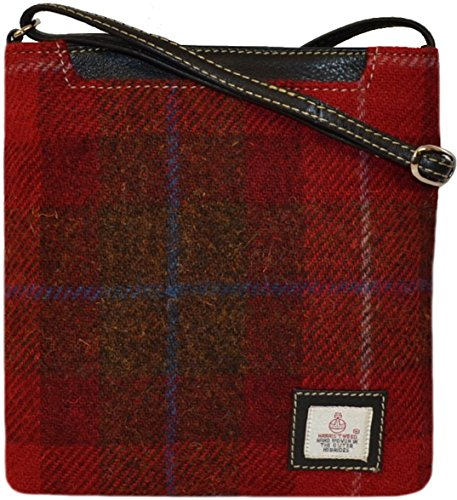 Harris the By Harriswear Harris Isle Tweed Taransay Direct ITEMS Bag from REDUCTION 7Colours on PRICE A001red of Available SELECTED 0B4gwv7qB
