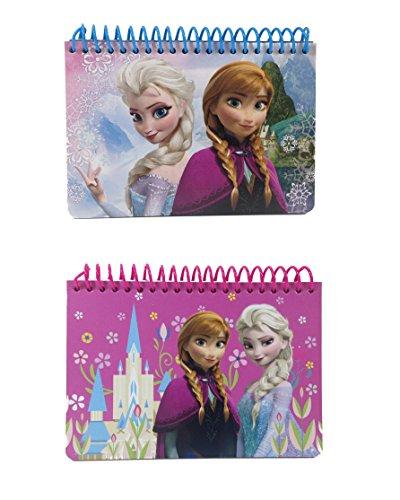 Lot of 2 Disney Frozen Princess Anna & Elsa Autograph Book
