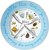 The Diet Plate - Plato con divisiones para alimentos (versión femenina)
