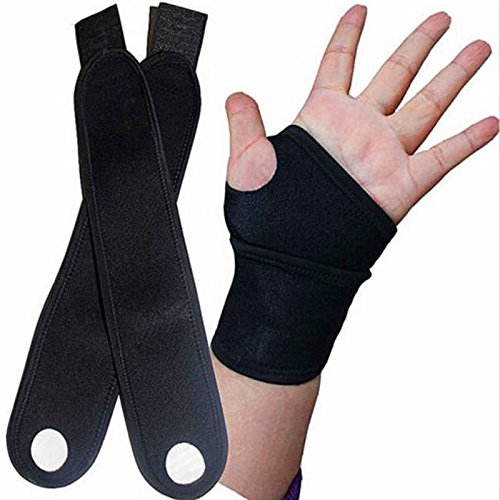 Velcro Wrist Wrap Support with Thumb Loop By Multis