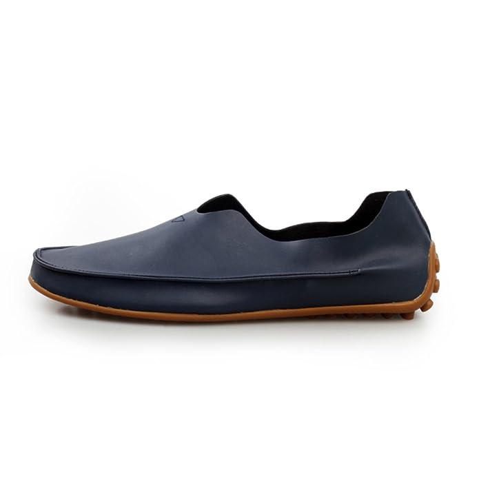 Zapatos de hombre de verano/zapatos casuales/Los zapatos de ventilación de guisantes/El conductor de un pedal de zapatos/Zapatos marea coreanos-G Longitud del pie=25.3CM(10Inch) KssddJA5ob