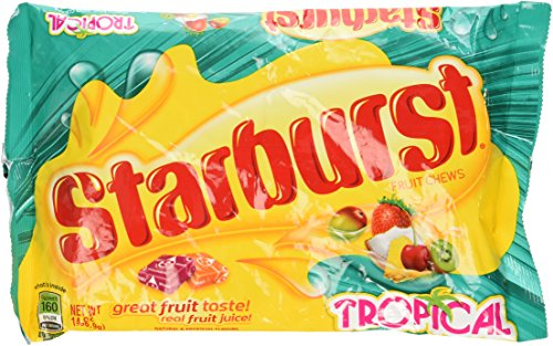 Starburst Tropical Fruit Candy, 14 Oz