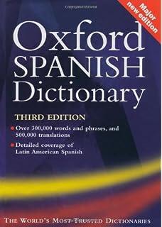 Amazon.com: The Oxford Spanish Dictionary on CD-ROM: Windows ...
