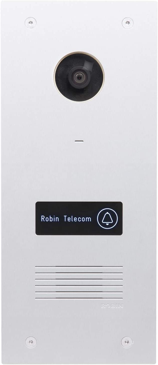 Robin ProLine Video Doorbell with Surface Mount Box (Works with Apple HomeKit)