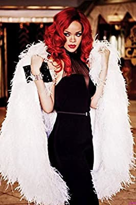 Fit You Rihanna Nice Silk Fabric Cloth Wall Poster Print
