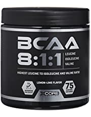 Save on Xcore Nutrition BCAA SS Poudre Complément 300g - Rapport 8:1:1 - Formule d'Acides Aminés de Qualité Pour la Croissance Musculaire, la Force & l'Absorption Maximales - Goût Citron Exquis - 75 Portions and more