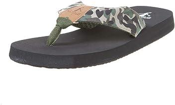 141b3fc386836 Corkys Footwear Womens Ladies Camo Trail Flip Flops