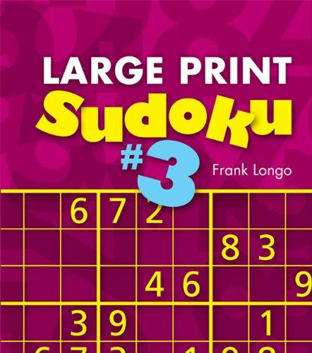 Large Print Sudoku Frank Longo product image