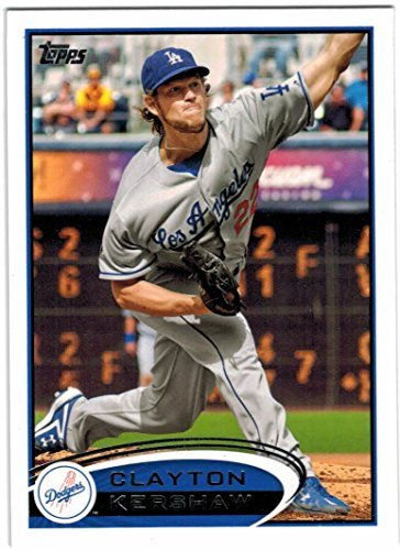 (2012 Topps Los Angeles Dodgers Team Set with Clayton Kershaw & Kenley Jansen - 20 MLB Cards)