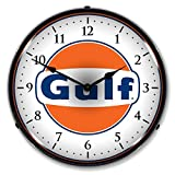 Cheap Collectable Sign and Clock 710057 14″ Gulf Lighted Clock