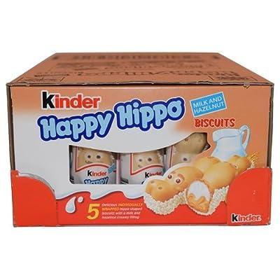 Kinder Happy Hippo - Hazelnut, CASE, 10x(20.7g x 5) 50 pcs by Ferrero