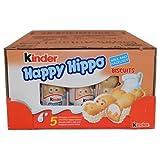 Kinder Happy Hippo - Hazelnut, CASE, 10x(20.7g x 5) 50 pcs