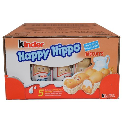 Ferrero Kinder Happy Hippo - Hazelnut, CASE, 10x(20.7g x ...