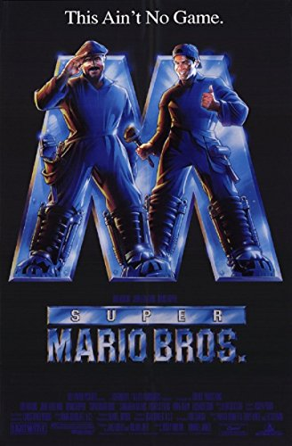 Super Mario Bros. 1993 D/S Rolled Movie Poster 27x40