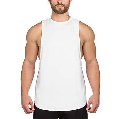 JiXuan Gymnase Vêtements Bodybuilding Maillot De Bain Golds Débardeurs  Fitness Tees Hommes sans Manches T- d540b41c5e9