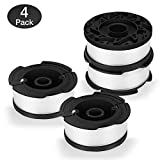 AIVS Line String Trimmer Replacement Spool,30ft 0.065'' Autofeed Replacement Spools for BLACK+DECKER String Trimmers, 4 Pack