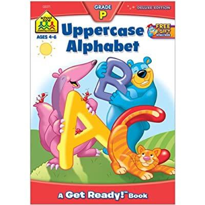 Workbooks-Uppercase Alphabet Grade P