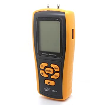 LDD GM520 Digital Manometer Differenzdruckmesser Messgerät ...