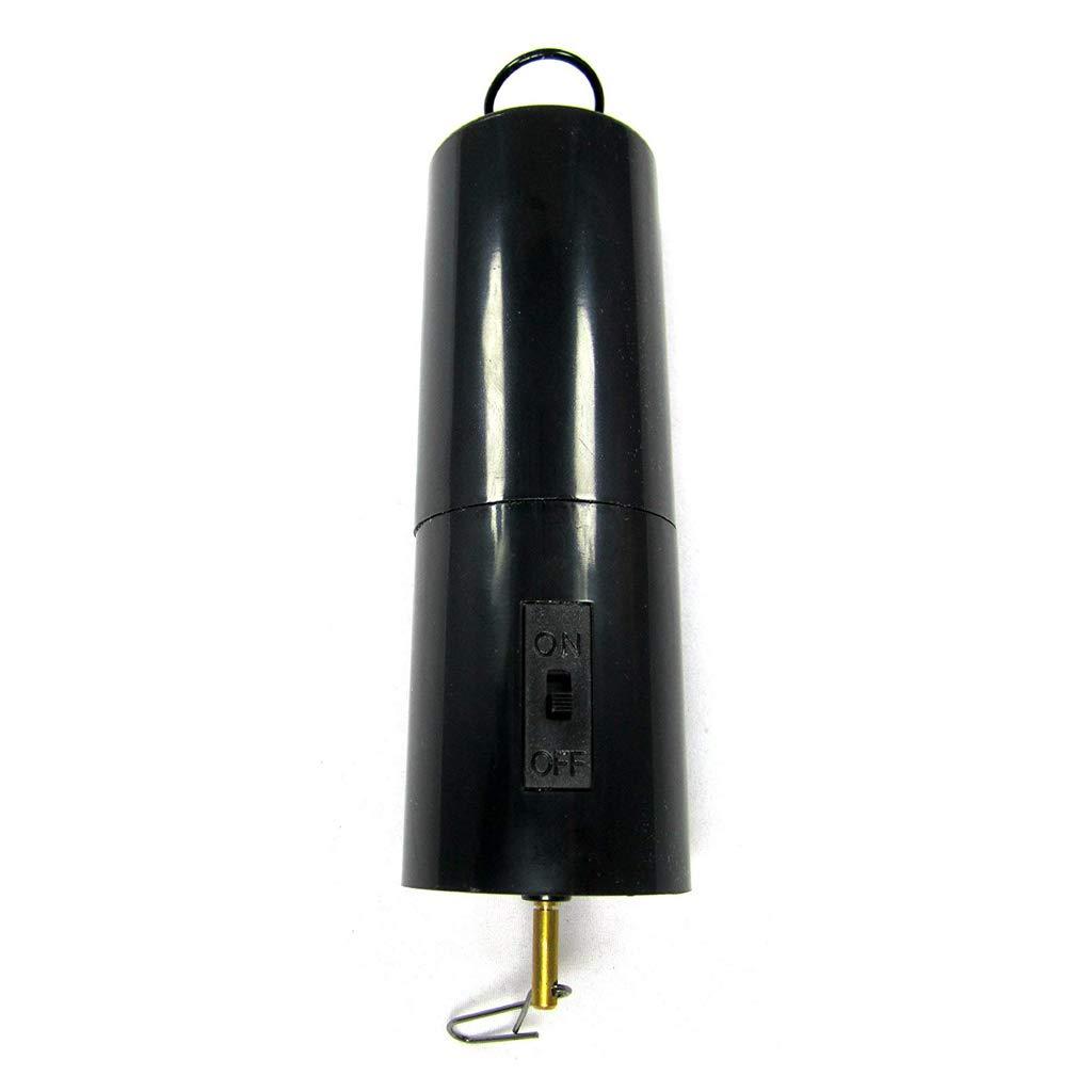 Windchiem Windspiel Roteirende Motor B Blesiya Windspirale Windspiel mit Glaskugel