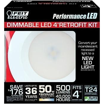 Feit Ledr4ho 830 75w Equivalent 4 Inch Dimmable Retrofit