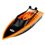 Gentman RC Boat 2.4GHz 4 Channels Electric Remote Control Racing Boat High Speed for Pools Lakes and Outdoor Adventure RC Toys