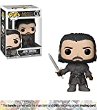 Funko Jon Snow [Beyond The Wall] POP! x Game of Thrones Vinyl Figure + 1 Official Game of Thrones Trading Card Bundle [#061]