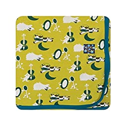KicKee Pants Swaddling Blanket Citronella Hey Diddle Diddle