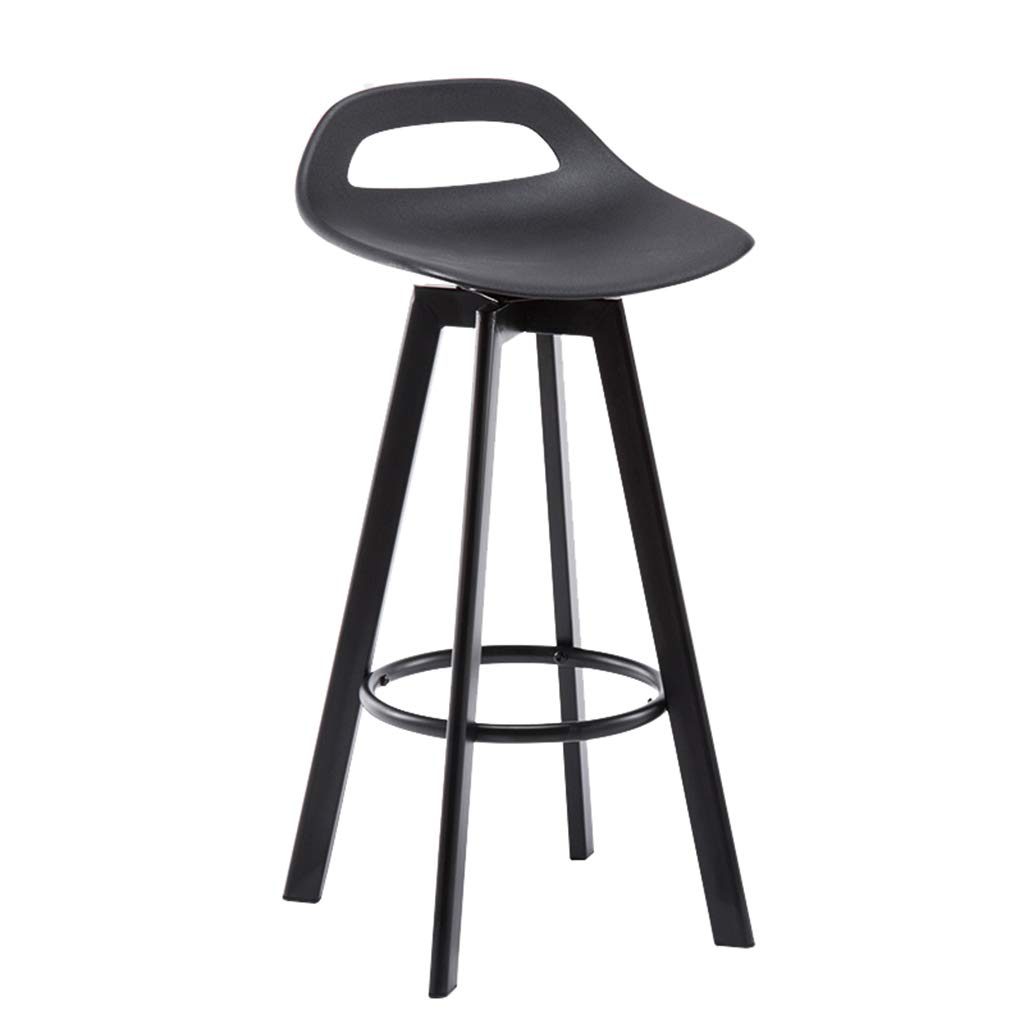 Sitting height 83cm Barstools Iron Bar Stool Can Be redated Modern Simple High Stool Home Kitchen Breakfast Stool Chair Black (Sitting Height  60 72  83CM) (Size   Sitting Height 83cm)