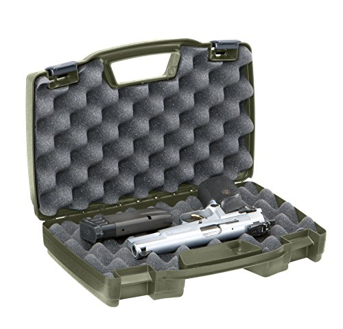 Plano 1403 Protector Series Single Pistol Case, Medium, Green