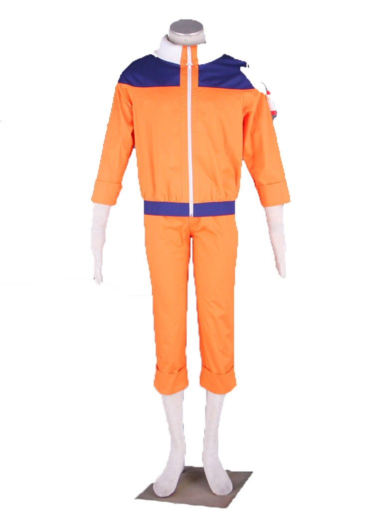 Wsysnl Japanese Anime Cosplay Costume for Uzumaki Naruto Adult/Kids by Wsysnl (Image #1)