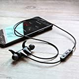 Bluetooth Headphones, AUKEY Latitude Lite Wireless Earbuds HiFi Sound, Sweat-Resistant, 8-Hour Battery Life, Built-in Mic, Secure Fit Sports Earphones for Gym, Running and Workout