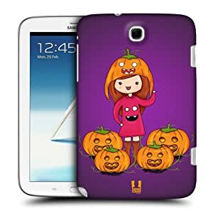 AIYAYA Samsung Case Designs Pumpkin Spooky Beanies Protective Snap-on Hard Back Case Cover for Samsung Galaxy Note 8.0 N5100 N5120 by lolosakes