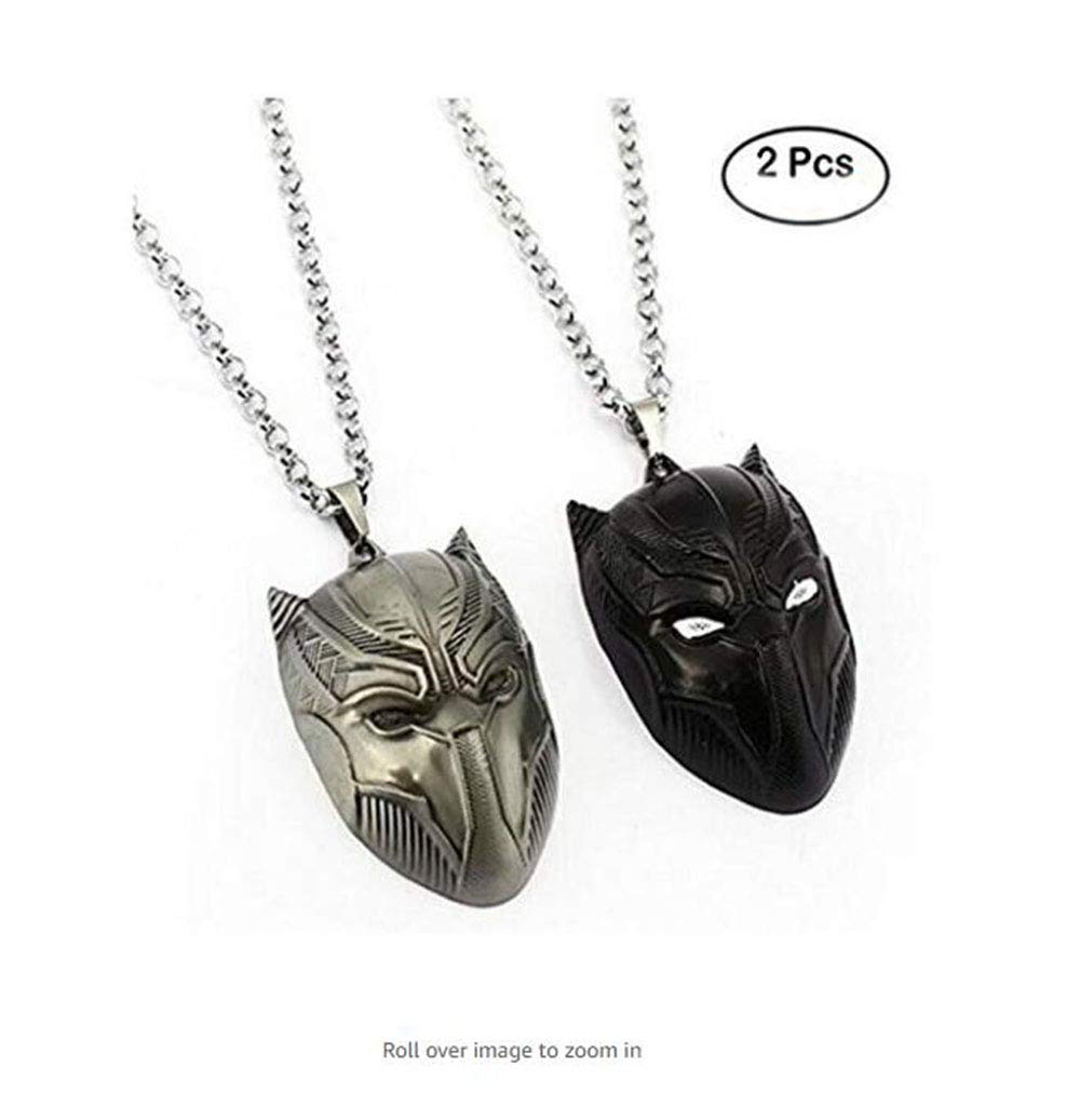 Civil War Necklace Superhero Pendant Spider Man Ant Man Black Panther Necklaces Fashion Men Women Gift