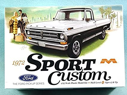 Amazoncom Mobius Model 125 1972 Ford Sport Custom Pickup Truck