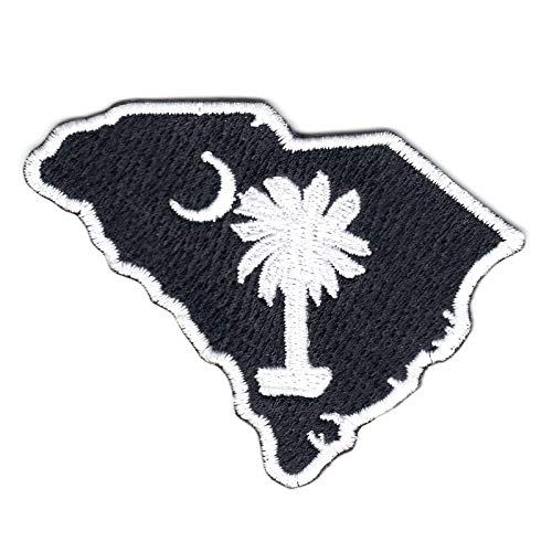 South Carolina State Logo Embroidered Iron On Patch