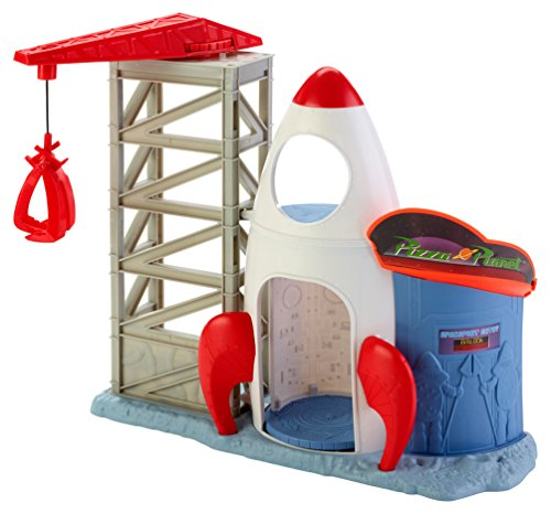 Disney/Pixar Toy Story Rocket Command Center Playset (Story Rocket Toy Ship)