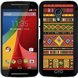 Funda para Motorola Moto G (Generation 2) - Arte étnico áfrica by BluedarkArt