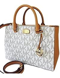 Beige ONE SIZE Michael Kors Womens Handbag KELLEN 35S7GSOS2B VANILLA ACRN