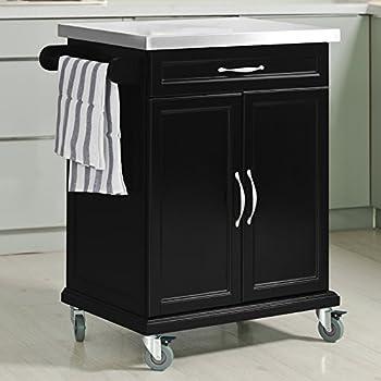 Amazon Com Haotian Fkw13 Sch Wood Kitchen Cabinet